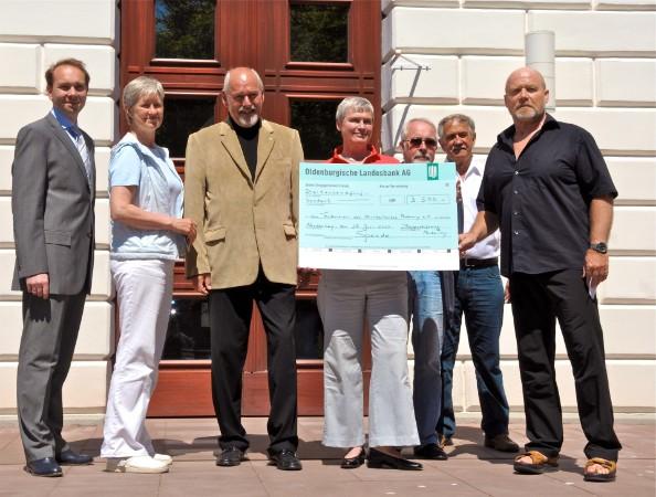 Großzügige Spende der Staatsbad GmbH zum Projekt Norderney Barrierefrei